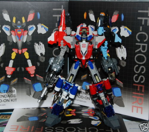 Fansproject Superion Custom upgrade kit transformers  G1