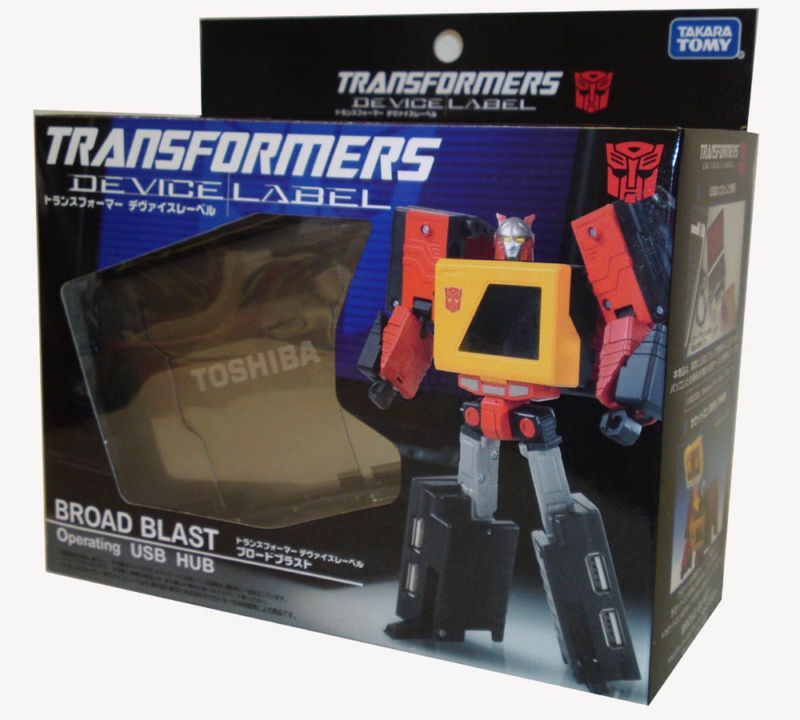 Transformers Device Label Blaster Board Blast USB HUB