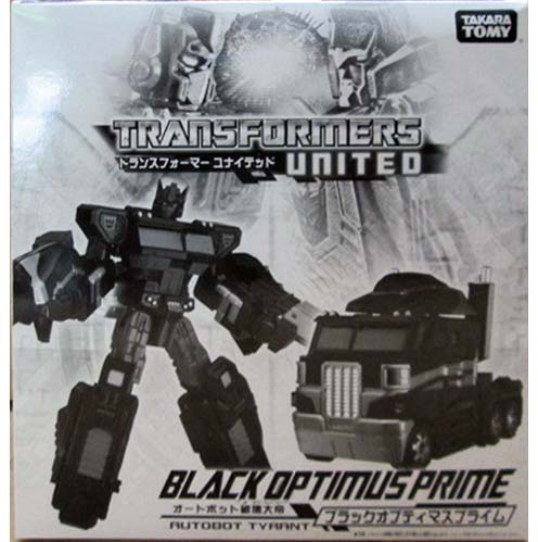 Tokyo Toy Show 2012 Exclusive UNITED Black Optimus Prime