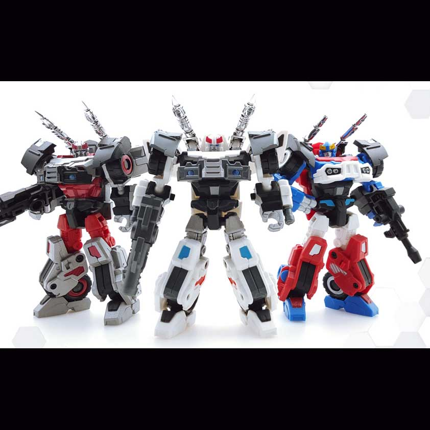 Iron Factory- IF-EX12 - Set of 3 Figures