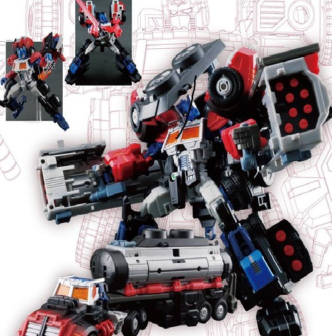 Maketoys MT-05Lte Gento Core Figure & Battle Sentine