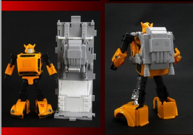 X2 Toys XT006 Jetpack and Base Assembly Upgrade Kit Perfect for MP-21 Bumblebee