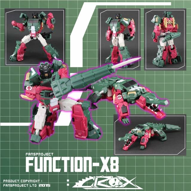 Fansproject - Function X8  - Crox