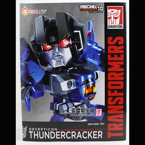 Kids Logic Transformers kidslogic Thundercracker