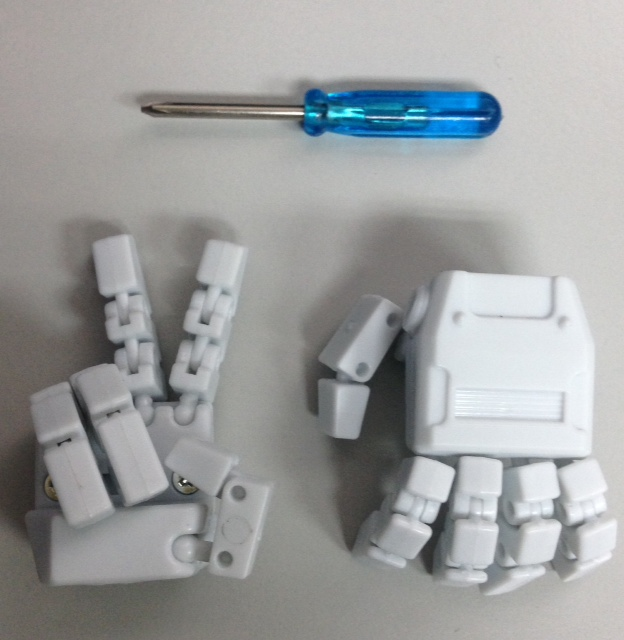 KFC- KP-08 Hand Set  posable hands for MP-22