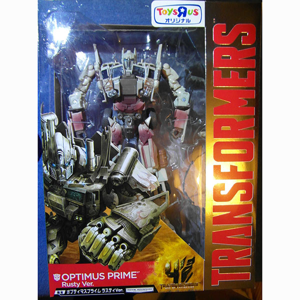 TAKARA TOMY TRANSFORMERS 4 AGE OF LIMITED RUSTY VER Optimus Prim
