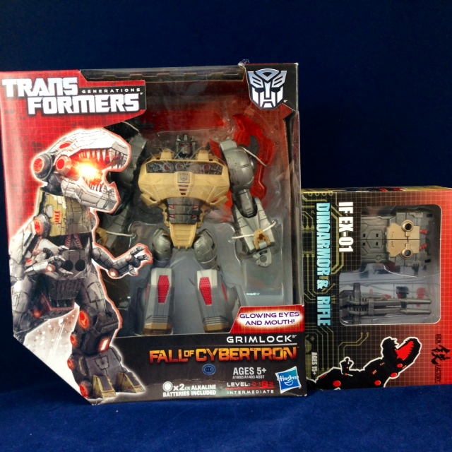 FOC Grimlock +IF-EX01 Add-On