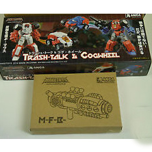 Maketoys  Trash-Talk & Cogwheel Set  Type +My First Blaster