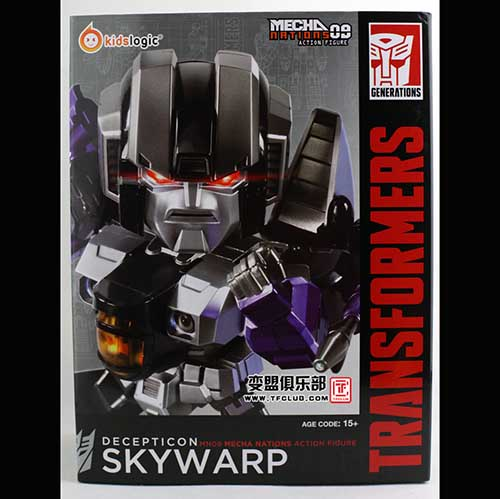 Kids Logic Transformers kidslogic Skywarp