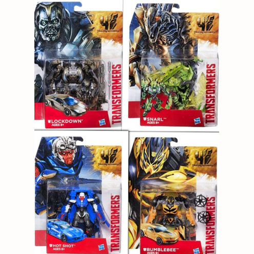 TRANSFORMERS 4 HotShot+Lockdown+Snarl+ BEE