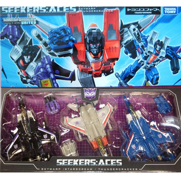 TakaraTomy Transformers Classics Seekers Set  ACE [Asia Exclusiv