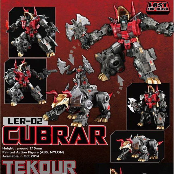 Fansproject  Lost Exo-Realm - LER-02 Cubrar & Tekour~ Ship Now