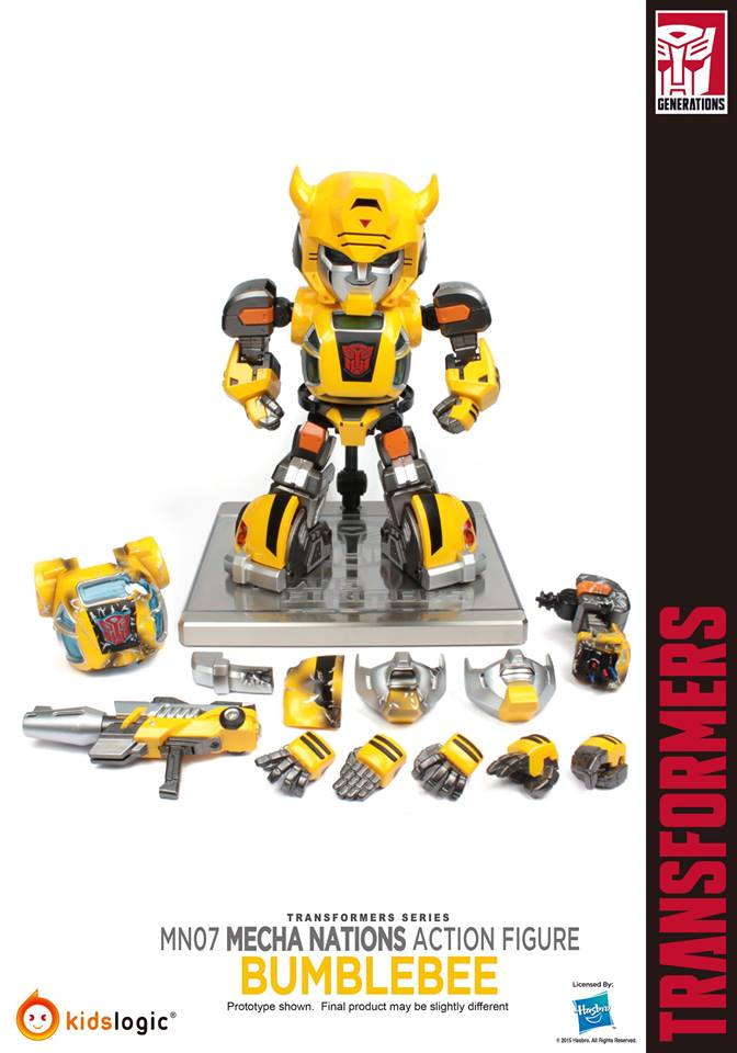 Transformers Generations Bumblebee (5  Steps)
