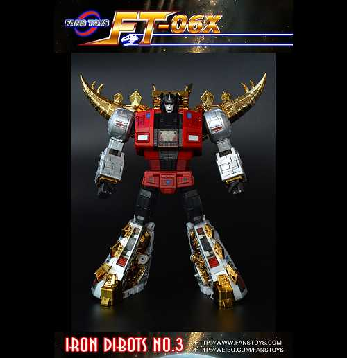 Fans Toys FT-06X Sever Iron Dibots (Chrome)