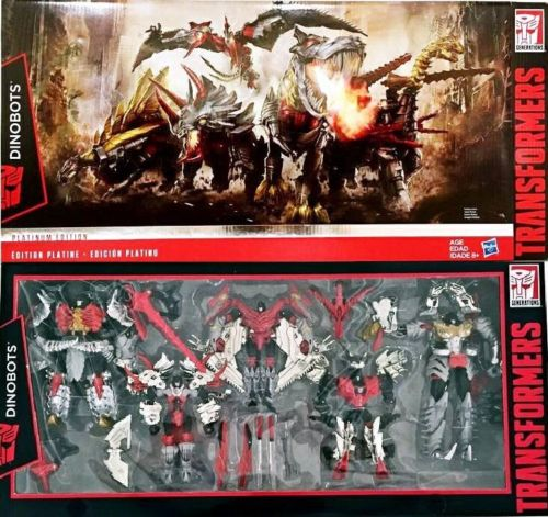 Discount ~Platinum Edition G1 Style Age Of Extinction Dinobots