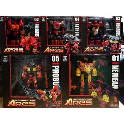Xmas Specials ~ TFC Toys Ares  - FULL SET of 5