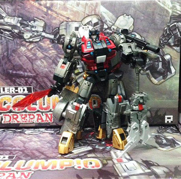 Fansproject  Lost Exo-Realm - LER-01 Columpio & Derp