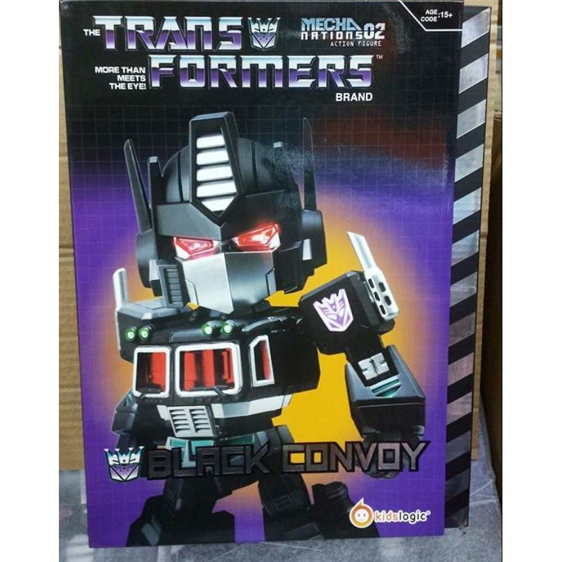 Kids Logic Transformers  Black Convoy