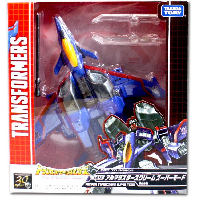 Takara Tomy Transformers Legends LG18 Armada Starscream Super Mo