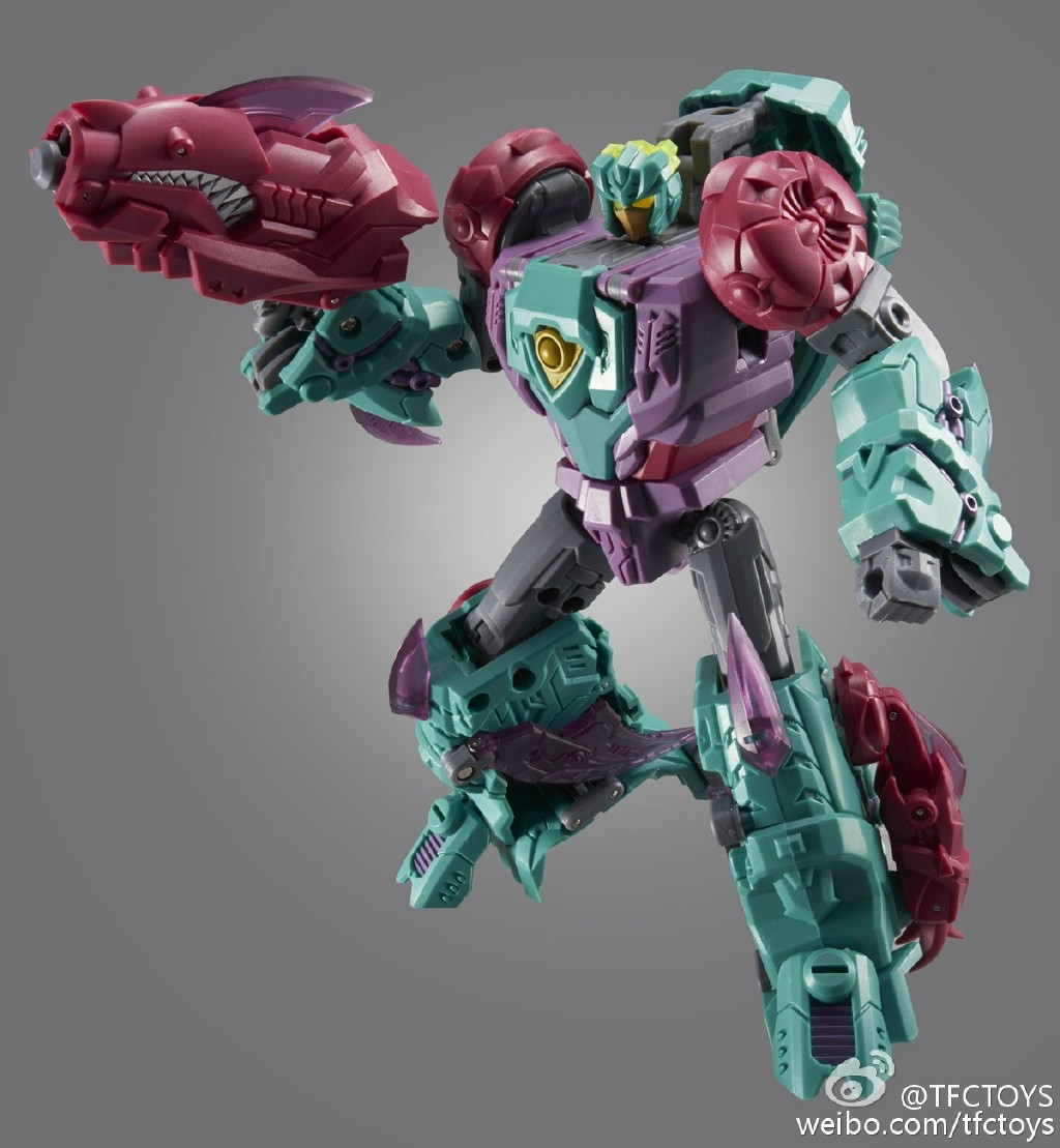 TFC Toys Poseidon P02 Cyberjaw (no box packing)