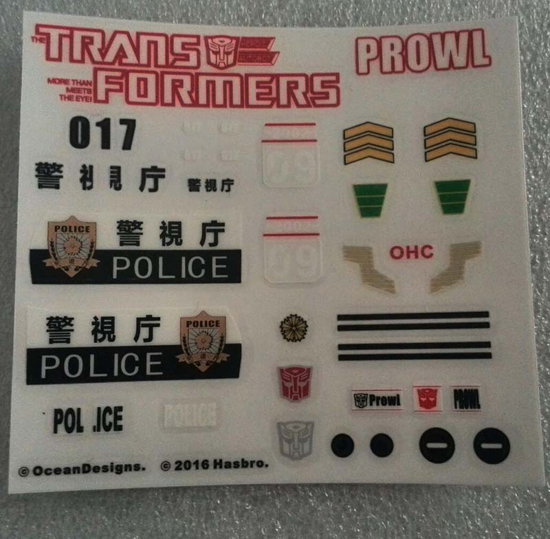 MP-17 Prowl Sticker (VERSION 2)