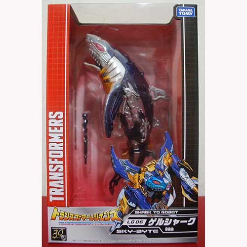 Takara Tomy Transformers Legends LG06 Generations SKY-BYTE