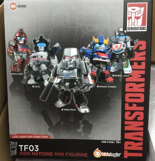 TRANSFORMERS KIDS NATIONS SERIES TF03