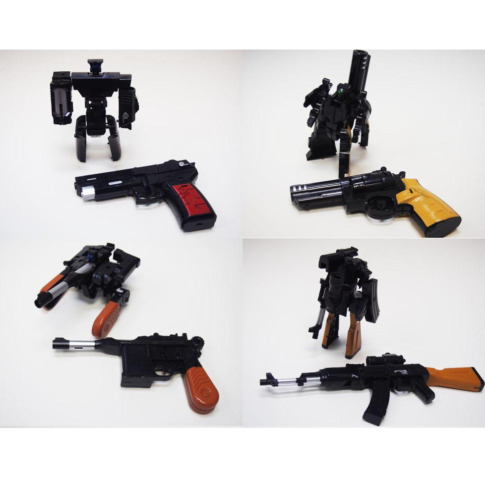 Guns Robot Set of 4