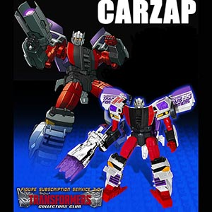 Transformers Collector's Club TFCC BotCon CARZAP