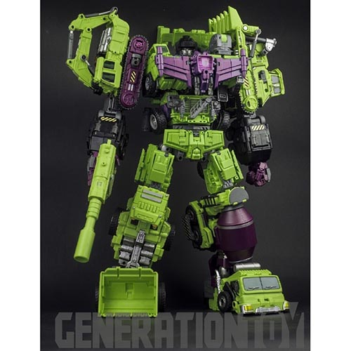 Generation Toy Gravity Builder -GT-01-ABCDEF  Full Set (no box)