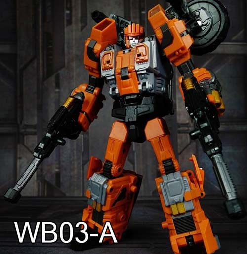 Warbotron WB03-A  Afterburner ~ Ship Now~