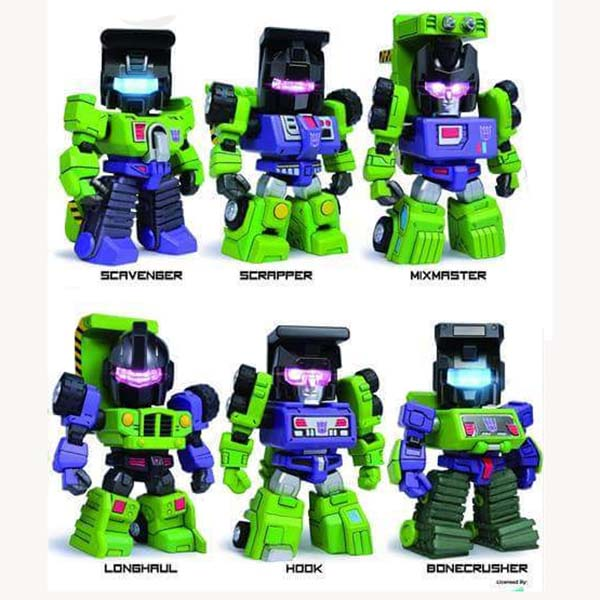 Kids Logic ~ TF04 Devastator, set of 6