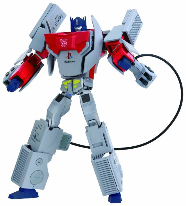 Takara Tomy  Playstation  Transformers Optimus Prime
