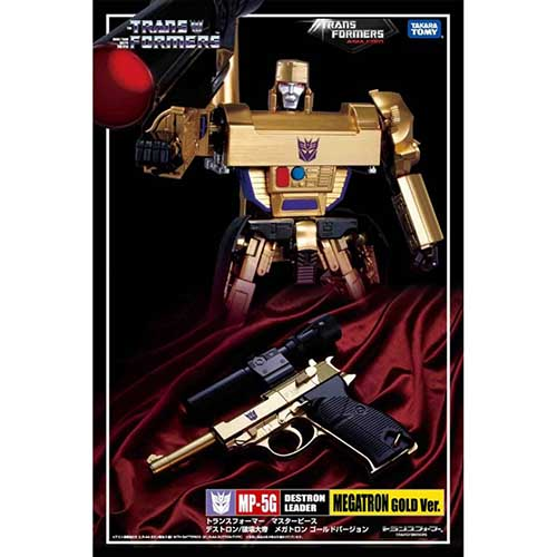 MP Megatron MP-05G  30th Anniversary Exclusive  Gold Version