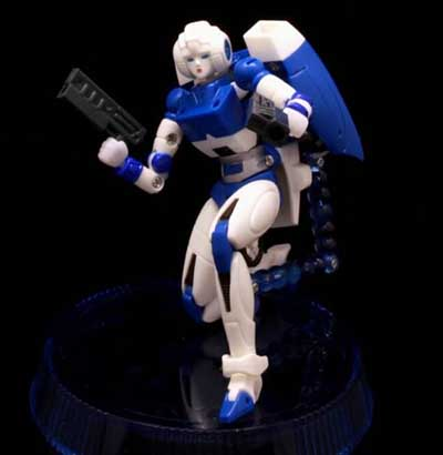 MGT-01 Delicate Warrior in loose (Blue)