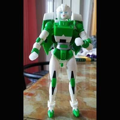 MGT-01 Delicate Warrior in loose (Green)