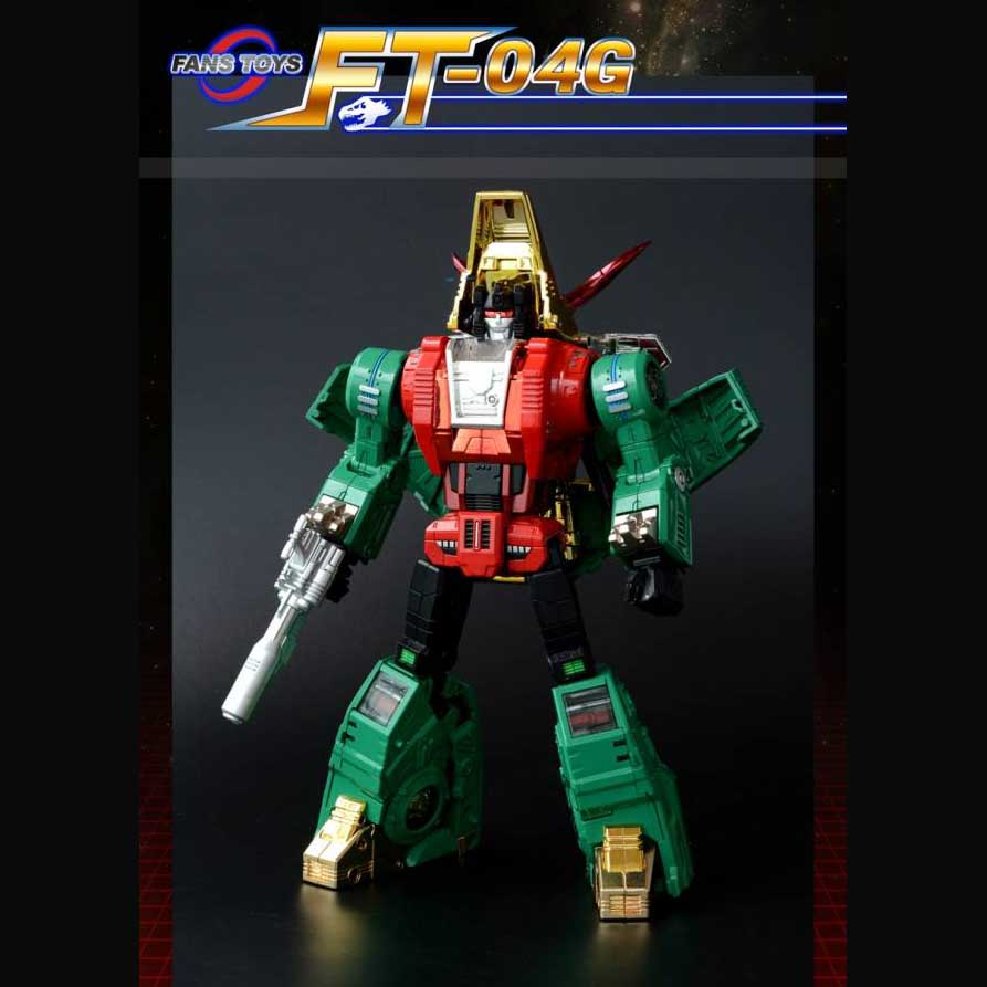 Fans Toys FT-04G - Scoria -GREEN - Limited Edition 500