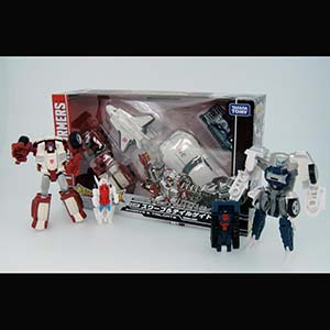 Takara Tomy Transformers Legends LG08 Swerve & Tailgate Set