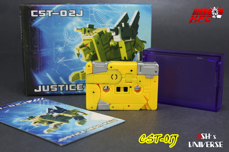 KFC CST-02J Justice Ironpaw ~yellow (cannon improved ver)