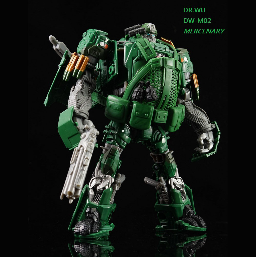Dr.wu TF movie4 hound upgrade kit