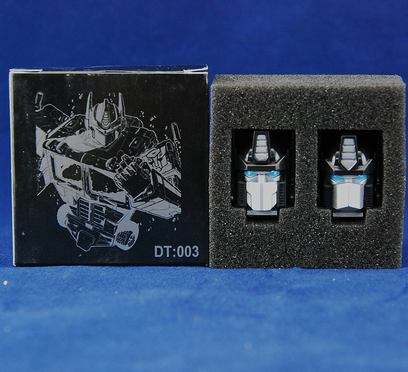 Dacatoys DT003 heads kit for MP10 (BLACK)