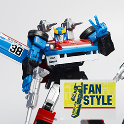 Fan Style hands for MP19 (BLUE)