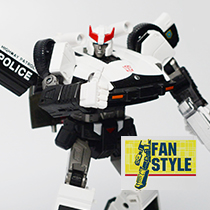 Fan Style hands for MP17 (WHITE)