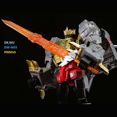 Dr Wu~ DW-M03 - Primus Sword - Orange