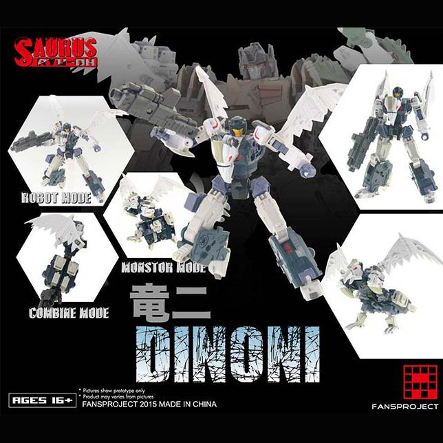 Fansproject - Saurus Ryu-Oh - Dinoni (2)