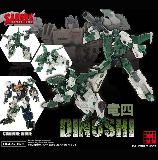 Fansproject - Saurus Ryu-Oh - Dinoshi (4)~ Ship now