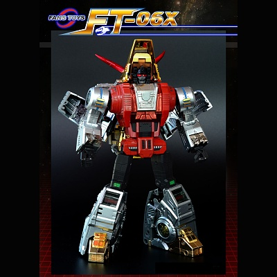 Fans Toys FT-04X Scoria  Dibots Limited Edition