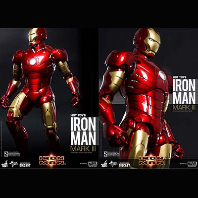 Hottoys hot toys Ironman Diecast Mark 3 III