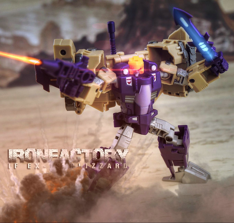 Iron Factory- IF-EX13  Blitzwing