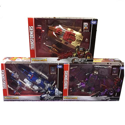 TakaTomy Legends - LG31 LG32 LG33 Chromedome Highbrow Mindwipe